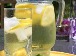coconut oil post detox lemonade