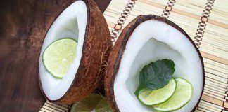 coconut oil post fresh coconut and lime
