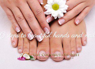 coconut oil post 6 steps to beautiful hands and nails