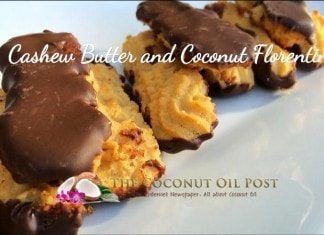 coconut oil post cashew butter and coconut Florentines web