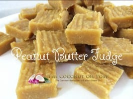 coconut oil post peanut butter fudge