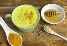 Coconut Oil Post Turmeric milk for Sore Throats