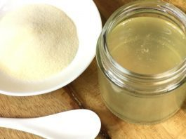 Coconut Oil Post Gelatin Protein Hair Mask 1