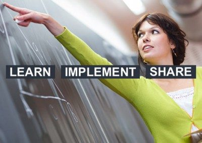 Learn Implement Share